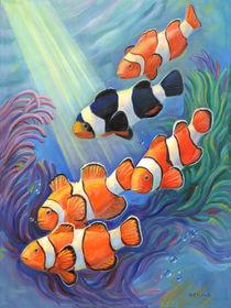 'Clownfish Paradise' by Svitozar Nenyuk