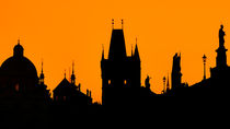 Prague Silhouettes by Tomas Gregor