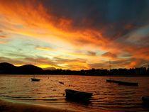 Port d'Alcúdia - Sonnenuntergang am Meer by wirmallorca
