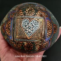 Heart in Detail by Julie Ann Stricklin von Julie Ann  Stricklin