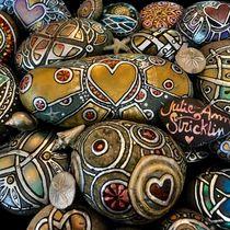 Heart of Gold solid as a Rock by Julie Ann Stricklin von Julie Ann  Stricklin