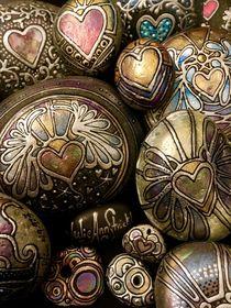 Angel Heart Rocks By Julie Ann Stricklin von Julie Ann  Stricklin
