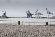Containerhafen Hamburg von gini-art