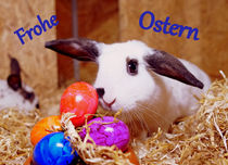 Frohe Ostern 4 by Sandra Opolka