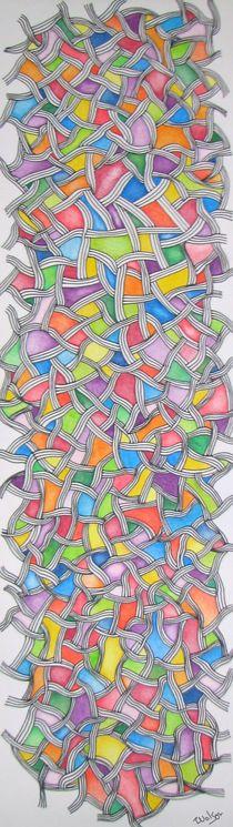 Pastel Pathways von Tina Nelson