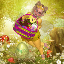 Frohe Ostern, Easter, von Conny Dambach