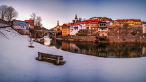 Winter in Murau by Zoltan Duray