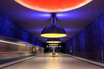 U-Bahnhof Westfriedhof von Kilian Schloemp