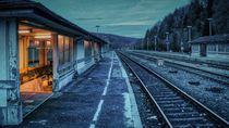 Bahnsteig 5 von Kilian Schloemp