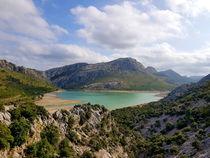 Cúber Stausee Mallorca im Tramuntana Gebirge von wirmallorca