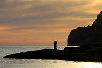 Romantischer Sonnenuntergang am Mittelmeer - Mallorca von wirmallorca