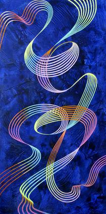 Fische Abstrakt von Olga Krämer-Banas