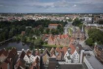 Hansestadt Lübeck von oben von Michael Winter