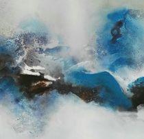 Aubrina Blue quer von Christa Krösl