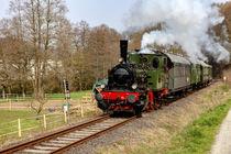 Mit der Dampflokomotive unterwegs von Harald Schottner