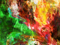 Liquid Dancing Twilights II by Wolfgang Rieger