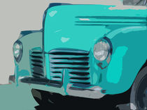 Vintage Automobile by Horst Hammerschmidt