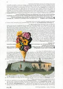 Blumen aus dem Schornstein von Doreen Trittel