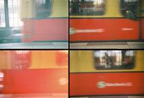 Lomo: Die Berliner S-Bahn fährt ein von Doreen Trittel