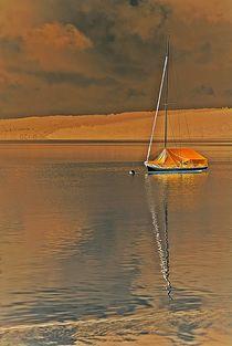 der Traum - wie ein in sich ruhender See... von loewenherz-artwork
