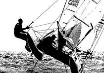 Nacra17 Sailboat von DANIEL RUIZ