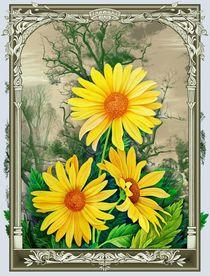 Gelbe Blumen by Konstantin Avdeev