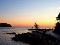 Abends am Strand von Santa Ponca - Mallorca von wirmallorca