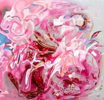 floral pink abstract von bruno paolo benedetti