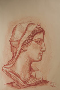 Roman Bust von bruno paolo benedetti