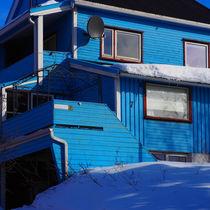 Haus in Blau von k-h.foerster _______                            port fO= lio