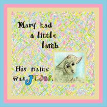 Mary Had a Little Lamb by eloiseart