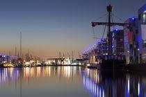 Neuer Hafen Bremerhaven von Hanns Clegg