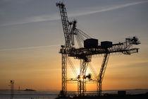 Containerkran Bremerhaven by Hanns Clegg