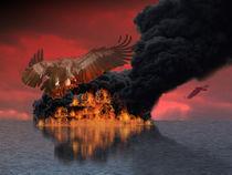 The vulture attacks by Dorina Boneva
