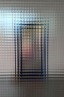 Through glass doors von feiermar
