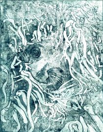 Karpfenschleimmenschen von SUSANNE eva maria  FISCHBACH