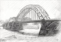 Bridge over the river Waal at Nijmegen - 21-04-14 von Corne Akkers