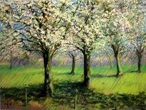 Flowering Trees (2014) (sold) von Corne Akkers