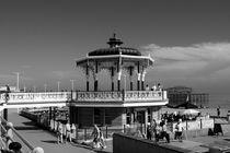 Victorian Bandstand at Brighton Beach  by Aidan Moran