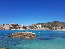 Am Strand von Peguera - Mallorca by wirmallorca
