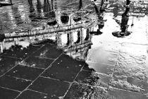 Kolosseum im Regen - schwarz-Weiß von wandernd-photography