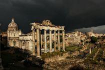 Forum Romanum bei Gewitter by wandernd-photography
