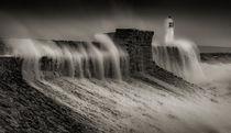 Hurricane Ophelia hits Porthcawl von Leighton Collins