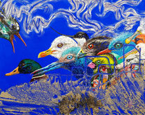 BLUE IDEA® - once I was a bird 2019 von Monika Nelting