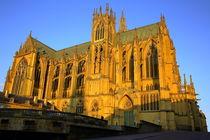 Kathedrale Saint-Étienne Metz by Patrick Lohmüller