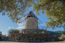 Mill of Collioure in France by Mickaël PLICHARD