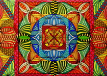 Mandala im Wandel von Wolfgang Johann Suhadolnik