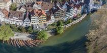 Altstadtpanorama Tübingen  von Christoph Hermann