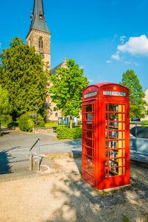 Rhens - Englische Telefonzelle 47 by Erhard Hess