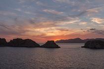 Sonnenuntergang Santa Ponca - Mallorca by wirmallorca